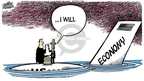 Mike Peters  Mike Peters' Editorial Cartoons 2009-01-16 financial crisis