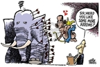Mike Peters  Mike Peters' Editorial Cartoons 2009-01-30 recession