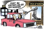 Mike Peters  Mike Peters' Editorial Cartoons 2009-04-24 automotive industry