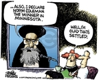 Mike Peters  Mike Peters' Editorial Cartoons 2009-06-19 2009 Iranian election