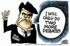 Mike Peters  Mike Peters' Editorial Cartoons 2011-11-10 2012 debate
