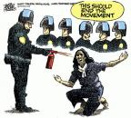 Mike Peters  Mike Peters' Editorial Cartoons 2011-11-23 officer