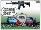 Mike Peters  Mike Peters' Editorial Cartoons 2012-07-21 thoughts and prayers