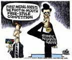 Mike Peters  Mike Peters' Editorial Cartoons 2012-07-26 2012 Olympics