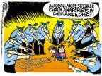 Mike Peters  Mike Peters' Editorial Cartoons 2013-10-25 officer