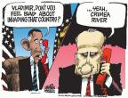 Mike Peters  Mike Peters' Editorial Cartoons 2014-03-20 Vladimir