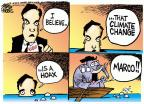 Mike Peters  Mike Peters' Editorial Cartoons 2014-05-15 climate change hoax