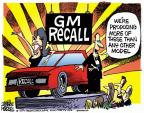 Mike Peters  Mike Peters' Editorial Cartoons 2014-05-27 automotive industry