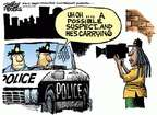 Mike Peters  Mike Peters' Editorial Cartoons 2014-12-05 officer