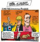 Mike Peters  Mike Peters' Editorial Cartoons 2016-07-22 2016 Election Ted Cruz