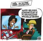 Mike Peters  Mike Peters' Editorial Cartoons 2016-07-26 Barack Obama