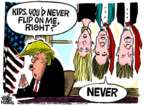 Mike Peters  Mike Peters' Editorial Cartoons 2017-11-03 Donald Trump