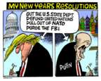 Mike Peters  Mike Peters' Editorial Cartoons 2017-12-28 Vladimir