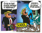 Mike Peters  Mike Peters' Editorial Cartoons 2018-02-28 Donald Trump