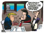 Mike Peters  Mike Peters' Editorial Cartoons 2018-10-03 Donald Trump