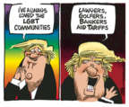 Mike Peters  Mike Peters' Editorial Cartoons 2019-06-04 tariff