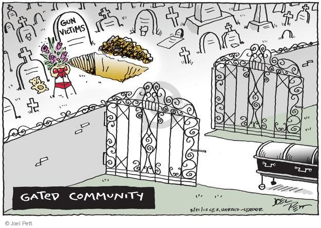 The Gated Community Editorial Cartoons