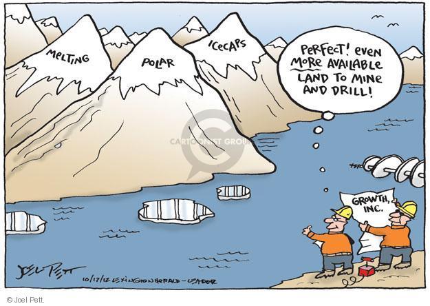 Image result for joel pett climate change cartoons