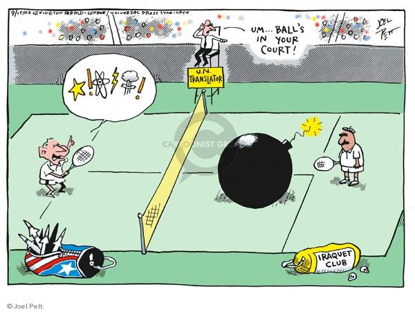 The Tennis Court Editorial Cartoons The Editorial Cartoons
