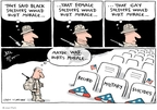 Joel Pett  Joel Pett's Editorial Cartoons 2010-02-08 gay rights