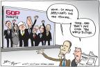 Joel Pett  Joel Pett's Editorial Cartoons 2011-06-15 2012 debate