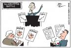 Joel Pett  Joel Pett's Editorial Cartoons 2012-01-26 2012 debate