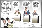 Joel Pett  Joel Pett's Editorial Cartoons 2012-02-16 2012 debate