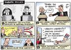 Joel Pett  Joel Pett's Editorial Cartoons 2012-10-03 2012 debate