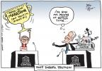 Joel Pett  Joel Pett's Editorial Cartoons 2012-10-10 2012 debate