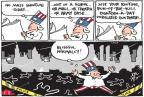 Joel Pett  Joel Pett's Editorial Cartoons 2013-01-04 assault