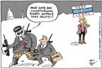 Joel Pett  Joel Pett's Editorial Cartoons 2013-01-23 assault