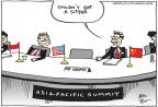 Joel Pett  Joel Pett's Editorial Cartoons 2013-10-09 summit