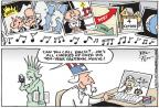 Joel Pett  Joel Pett's Editorial Cartoons 2014-02-09 international politics