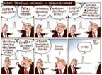 Joel Pett  Joel Pett's Editorial Cartoons 2017-08-25 presidential leadership