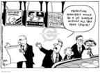 Joel Pett  Joel Pett's Editorial Cartoons 2003-04-04 anti-war