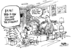 Dwane Powell  Dwane Powell's Editorial Cartoons 2008-12-24 economy