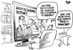 Dwane Powell  Dwane Powell's Editorial Cartoons 2009-02-06 economy