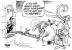 Dwane Powell  Dwane Powell's Editorial Cartoons 2009-02-26 Obama republicans