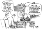 Dwane Powell  Dwane Powell's Editorial Cartoons 2005-04-17 money