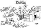Dwane Powell  Dwane Powell's Editorial Cartoons 2006-01-25 plan
