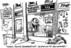 Dwane Powell  Dwane Powell's Editorial Cartoons 2006-08-24 money