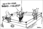 Dwane Powell  Dwane Powell's Editorial Cartoons 2008-03-06 candidates democrats