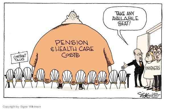 Signe Wilkinson's Editorial Cartoons - Health Care Cost