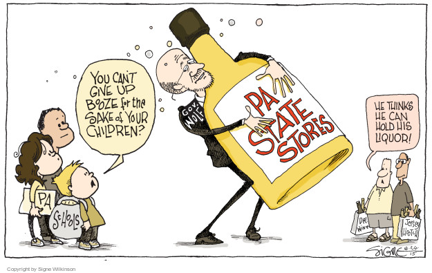 The Signe Editorial Beverage Cartoons Wilkinson's - Alcoholic