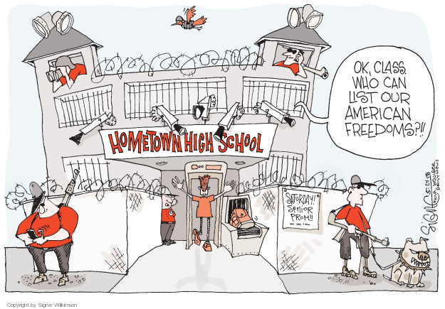 The High School Student Editorial Cartoons The Editorial Cartoons