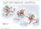 Signe Wilkinson  Signe Wilkinson's Editorial Cartoons 2006-02-14 ice skate