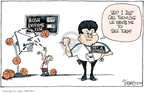 Signe Wilkinson  Signe Wilkinson's Editorial Cartoons 2007-07-27 basketball referee