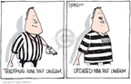 Signe Wilkinson  Signe Wilkinson's Editorial Cartoons 2007-08-17 basketball referee