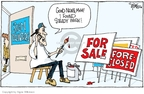 Signe Wilkinson  Signe Wilkinson's Editorial Cartoons 2008-03-04 real estate
