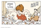 Signe Wilkinson  Signe Wilkinson's Editorial Cartoons 2008-06-30 cost of living